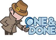 One & Done Logo